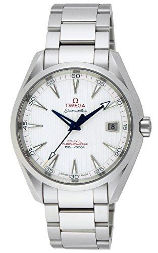 Para pescar Aqua Terra Omega 231,10,42,21,02,002 Automático reloj acero para hombre