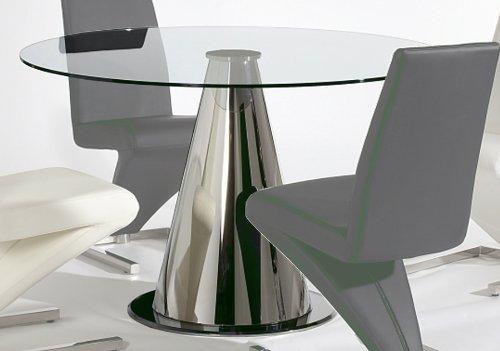 Cheap Tamara Round Glass Top Dining Table (TAMARA-DT-RND)