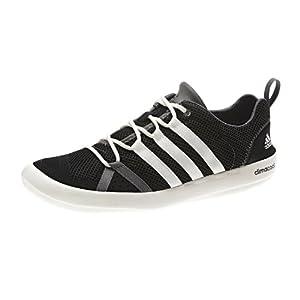 adidas Outdoor Climacool Boat Lace Boat Shoe - Men's Black/Chalk/Sharp Grey 12