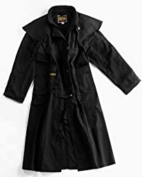 The Oilskin Drover (X-Small, Black)