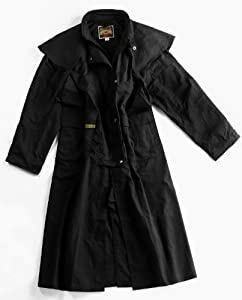 Down Under Oilskin Drover Black Large