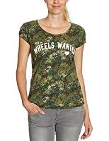 ONLY Damen T-Shirt, All over Druck 15067699 - FILIPPA SS AOP TOP JRS