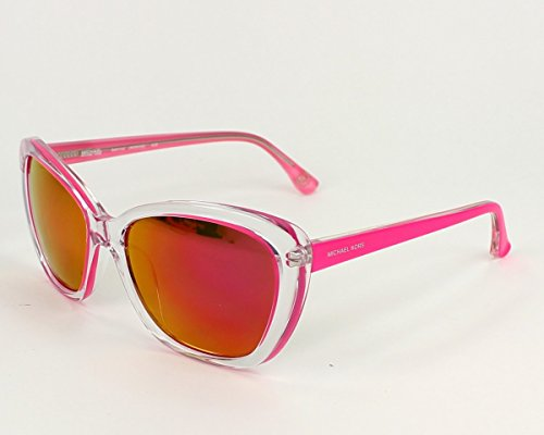 Michael Kors M2903S 628 Clear and Hot Pink Sabrina Cats Eyes Sunglasses Lens Ca
