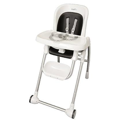 Groovy Evenflo Modern High Chair Black Ossiesheffieldstefany Machost Co Dining Chair Design Ideas Machostcouk
