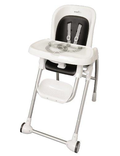 Evenflo Modern High Chair, Black