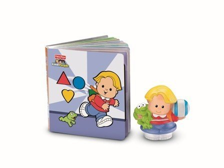 Imagen principal de Mattel V3380 Libro Little People Aprendo las Formas Fisher Price
