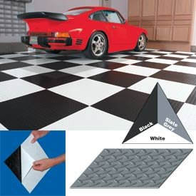 Vinyl Tile Matting With Adhesive 12