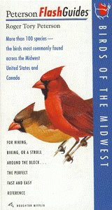 New Peterson Books Flash Guide Birds Of Midwest For Hiking Biking Or A Stroll Around The Block