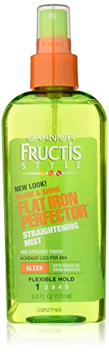 Garnier Fructis Style Sleek & Shine Flat Iron Perfector Straightening Mist 48 Hour Finish, 6 Fluid Ounce (Flat Iron Protector compare prices)