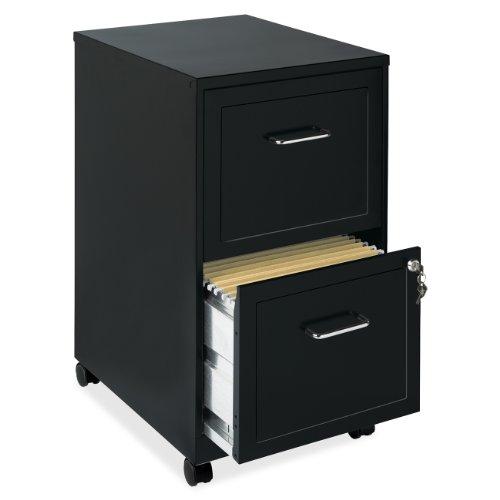 Lorell 16872 2-Drawer Mobile File Cabinet, 18-Inch (File Cabinet Prime compare prices)