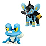 Pokemon XY Serie 3 cama Figura Pack - Froakie vs Luxio