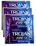 418tu4LuM4L. SL160  Trojan Fire & Ice Condoms 3 Pack