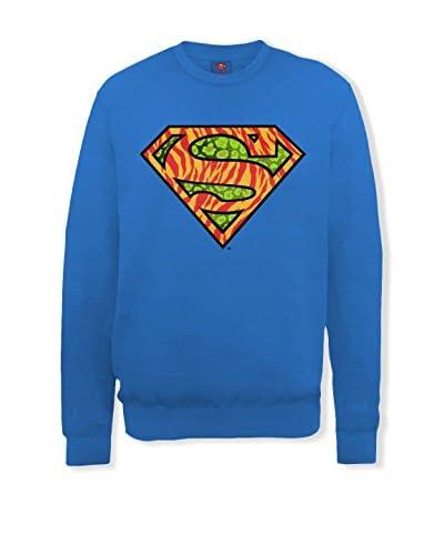 DC Comics Sweatshirt blau