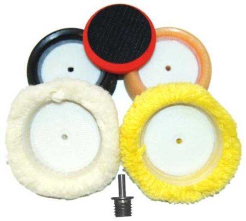 3 Quot Buffing Pad Kit Compound Polishing Auto Car Detail 844825092174 19 86