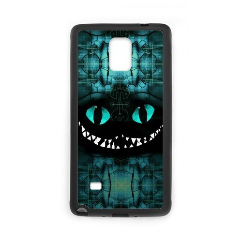 2015 New Cute Cartoon Cheshire Cat Design Hard Protective Back Cover Shell for SamSung Galaxy Note4 Phone (Chucky Doll For Sale Cheap)