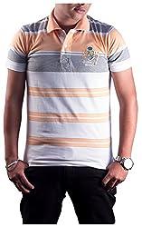 Protex Men's Cotton Polo (3205Ptsxl, Peach, Xl)