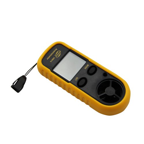 Smart Portable LCD Wind Speed Gauge Meter Sport Anemometer NTC Thermometer