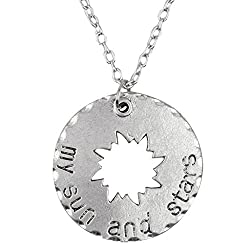 Game of Thrones My Sun & Stars Pendant with Chain