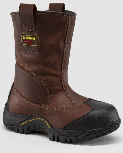 Dr. Martens Men's Outland ST Work Boot,Teak Industrial Trailblazer,9 UK/10 M US