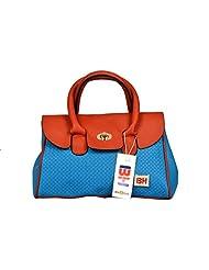 BH Wholesale Market Designer, Imported & Fashionable, New Arrival PU Leather Shoulder & Hand Bag For Women (Blue... - B00YJACOEM