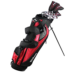 WILSON ULTRA Mens Complete Package Golf Club Set w  Bag by Wilson
