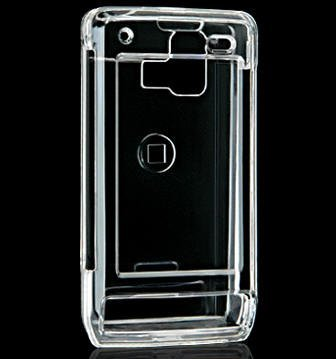 Transparent Clear Snap On Hard Cover for Verizon LG Dare VX-9700 Protector Case