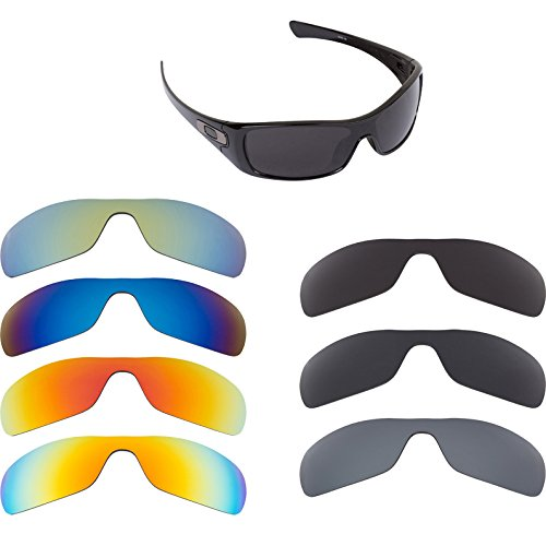 New SEEK Replacement Lenses for Oakley BATWOLF Sunglasses - Multiple Options