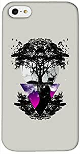 Noticeable 3D multicolor printed protective REBEL mobile back cover for iPhone-4 / 4S D.No-DEZ-1493-IP4