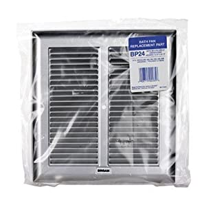 Broan NuTone BP24 Grille Bath Fan (Metal) (660 662 664 665 666 and 668).