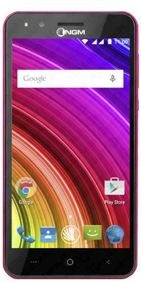 NGM You Color E506 Smartphone, Dual SIM, Rosa [Italia]