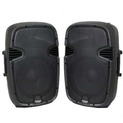 1 Pair of New 1200 Watts Band PA Karaoke DJ Active Powered 12