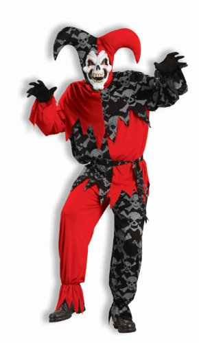 Forum Novelties Men's Deluxe Sinister Jester Costume