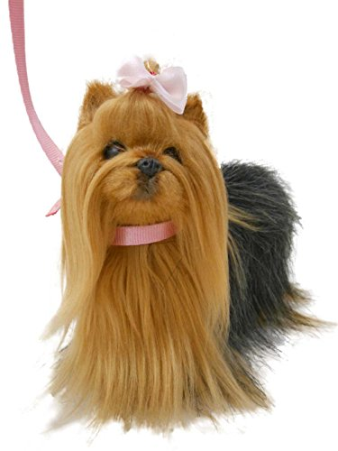 18″ Doll Yorkie Puppy Pet Dog For 18″ American Girl® Doll With Accessories Dog, Leash And Collar