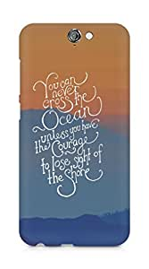 AMEZ you can never cross the Ocean Back Cover For HTC One A9