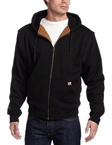 Dri-Duck Men's Crossfire Heavy Duty Oxford Jacket (Black, 4X-Large)