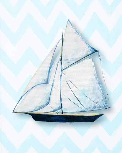 Cici Art Factory Paper Print Wall Hanging, Ship - 1