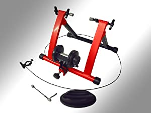 Bike Trainer Turbo Adjustable new Magnetic with Handlebar Adjuster Indoor Bike Exercise a207