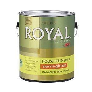 Latex acrylic enamel house trim paint interior semi gloss for 100 acrylic latex paint