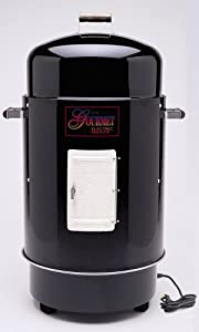 Brinkmann 810-7080-6 Gourmet Electric Smoker and Grill, Black (Discontinued by Manufacturer)