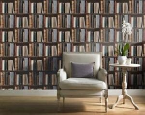 Gran Deco Library Wallpaper from New A-Brend
