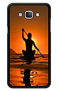 """Humor Gang Kayak Life Printed Designer Mobile Back Cover For """"Samsung Galaxy A8"""" (3D, Glossy, Premium Quality Snap On Case)"""