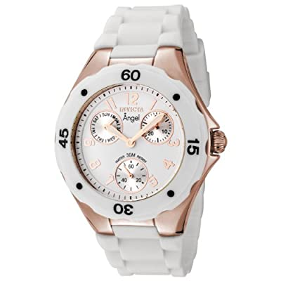 "Invicta Women's 0716 ""Angel Collection"" Rose Gold-Plated Watch"