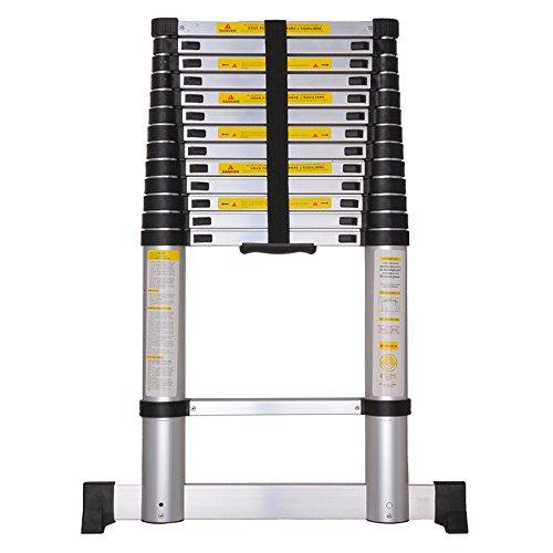 silex pro echelle t lescopique 4 10 m avec housse de transport barre stabilisatrice. Black Bedroom Furniture Sets. Home Design Ideas