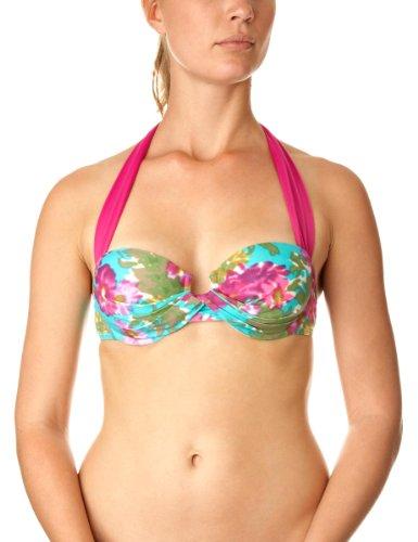 Aguaclara Poesia Fucsia Underwire Bikini Top Womens Bikinis Print 12
