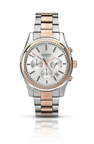 sekonda-mens-quartz-watch-with-silver-dial-chronograph-display-and-two-tone-stainless-steel-bracelet