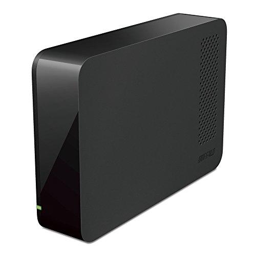 BUFFALO ドライブステーション ターボPC EX2 Plus対応 USB3.0用 外付けHDD 1TB ブラック HD-LC1.0U3-BKC