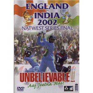 England Vs India: 2002 Natwest Final