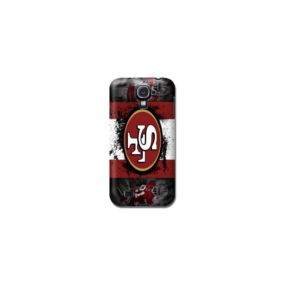 NFL San Francisco 49ers Samsung Galaxy S4/samsung S4/samsung I9500/samsung I9505 Cases  Sports Fan Cell Phone Accessories  Sports & Outdoors