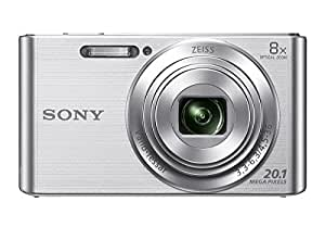 Sony Cybershot DSC W830/S 20.1MP Digital Camera   Silver  with 8x Optical  available at Amazon for Rs.7125