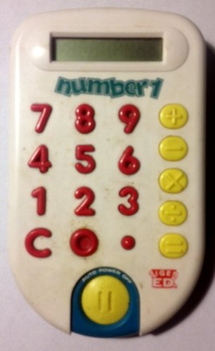 Number 1 Kids Calculator 1995